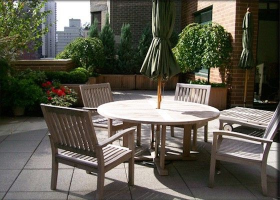 Chelsea Garden Center    Spaces  and Apartment Patio Apartment Terrace New York City Skyline Patio Patio with a View Terrace Terrace with a View