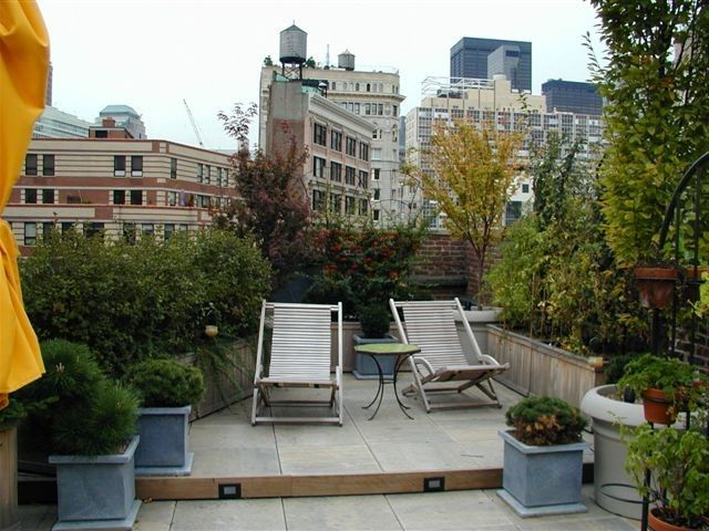 Chelsea Garden Center with  Spaces Also Apartment Garden Garden Garden with a View New York City Rooftop Raised Garden Beds Raised Gardens Rooftop Rooftop Garden