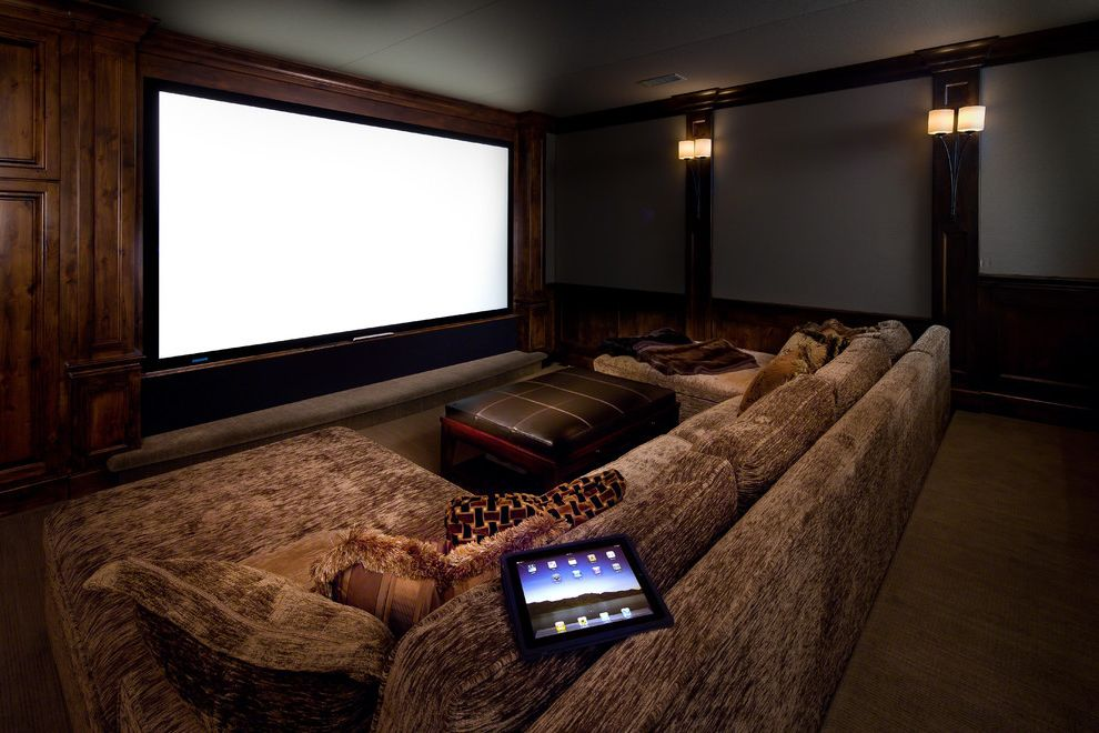 Chevy Chase Theater with Contemporary Home Theater  and Contemporary