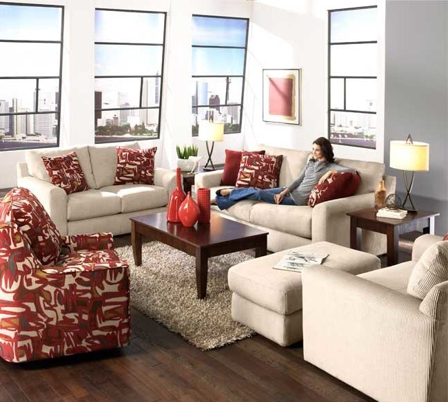 Cindy Crawford Sectional Reviews With Contemporary Living Room And Jackson  Furniture