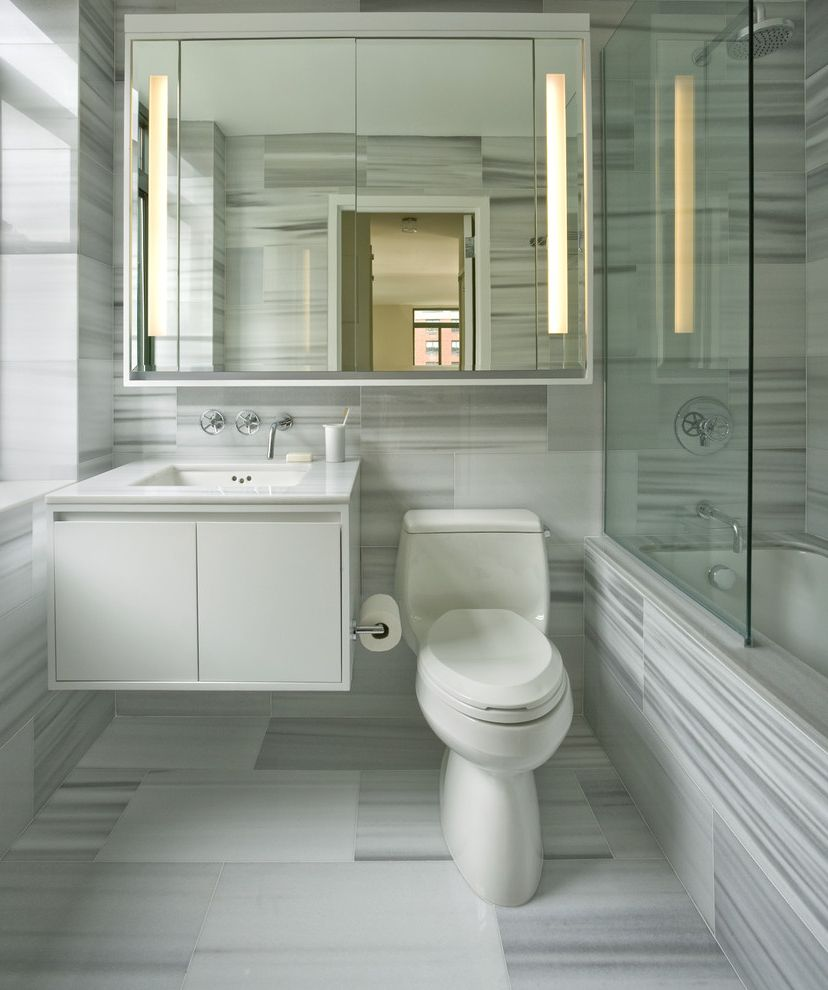 Commercial Grade Toilets with Traditional Bathroom and Chandelier ...