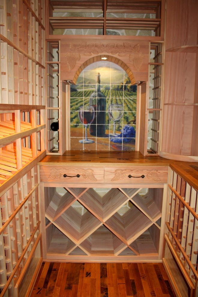 A Comprehensive View Of This Texas Custom Wine Cellar $style In $location