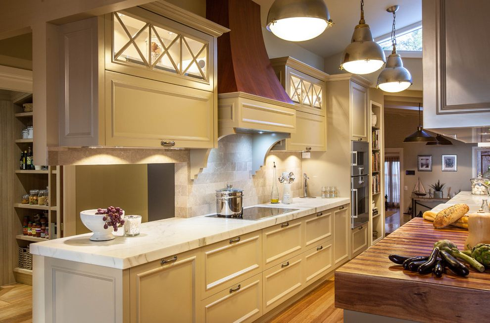 Conduction Stove   Traditional Kitchen  and Blum Hardware Butchers Block Classic French Lights Hampton Kitchen Design Lift Up Overheads Marble Modern Classic Renovations Skylight Timber Timber Floors Timeless