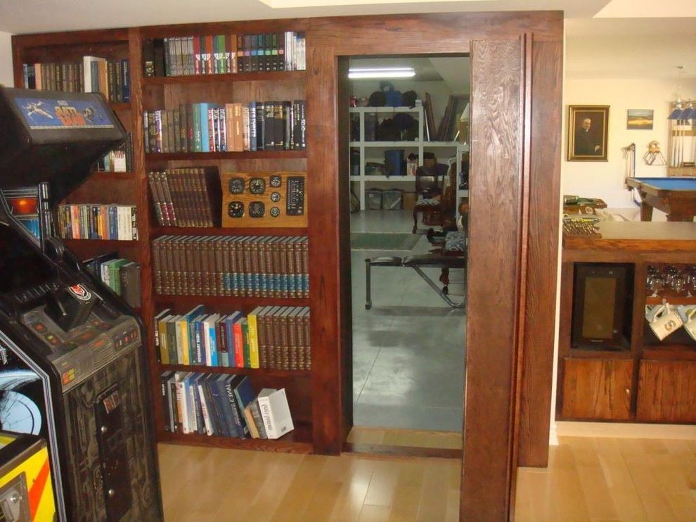 Construction Companies in Phoenix with  Home Gym  and Hidden Door Hidden Door Bookcase Hidden Door Hardware Invisidoor