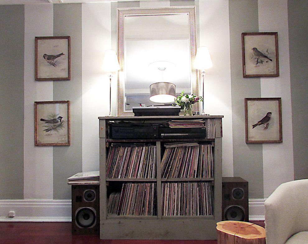 Cool Record Players   Contemporary Living Room Also Contemporary