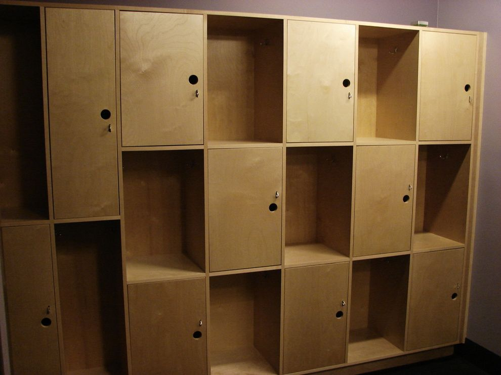 Core Power Yoga Austin with Industrial Spaces Also Commercial Lockers Millwork Modern Plastic Laminate Reception Desk