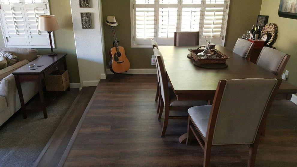Cortec Plus with Transitional Spaces  and Flooring Luxury Vinyl Tile Waterproof Waterproof Flooring