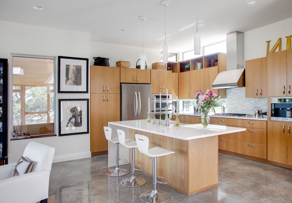 Cortex Plus Flooring Contemporary Kitchen and Backsplash Bar Stools ...