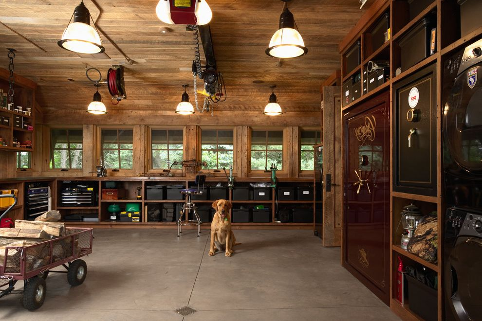 Costco Shelves Garage with Industrial Shed Also Awning Windows Barn Built in Shelves Built in Storage Garage Hunting Barn Pendant Lighting Under Window Storage Utility Pendants Vault Wood Ceiling