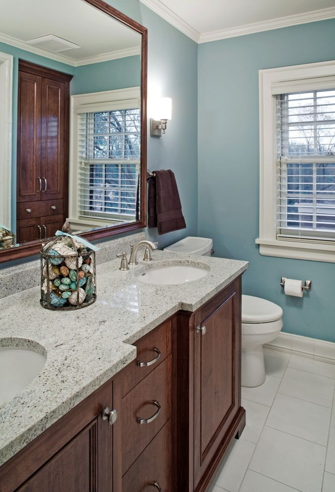 Cramers Kids with Traditional Bathroom Also Floor Framed Hall Bath Kids Mirror Quartz Sconce Sink Tile Window