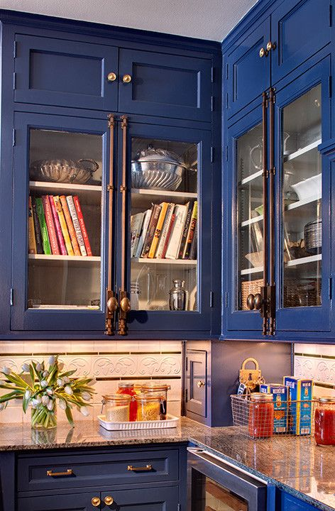 Cremone Bolt For Cabinets Eclectic Kitchen And Blue Cabinetry
