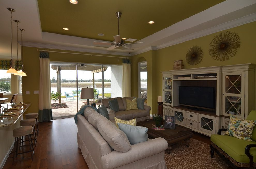 Cresswind at Victoria Gardens with  Living Room  And