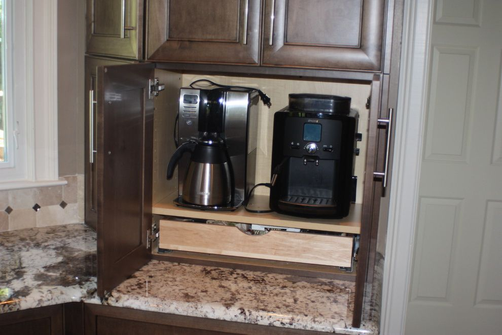 Cuisinart Keurig Coffee Maker   Traditional Spaces  and Traditional