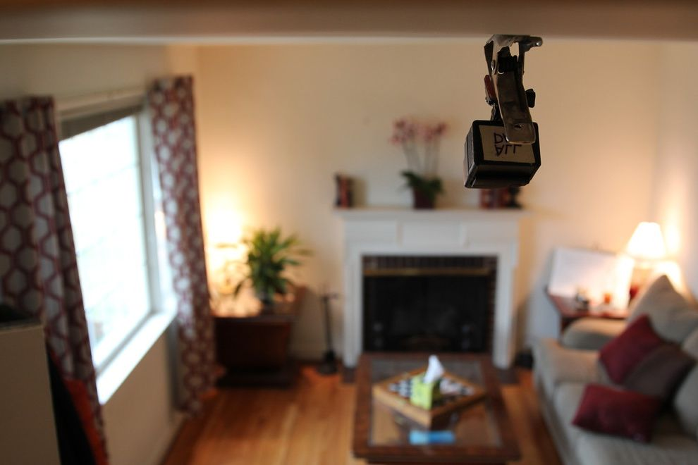 Davis and Green Electrical   Transitional Living Room  and Residential Electrical Residential Redesign