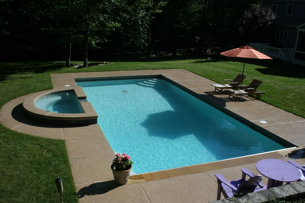 Deck Cost Estimator with Traditional Pool  and Contemporary Pools Fairfield County Pools Fairfield Ct Fairfield Pools Landscape Outdoor Pools Pool Pool Construction Swimming Pools Westchester Westchester Ny Westchester Pools