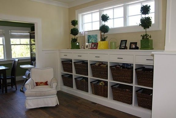 Deer Creek Storage   Eclectic Family Room  and Eclectic