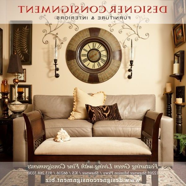 Design by Consign   Contemporary Living Room  and Leather Sofa Neutral Tones