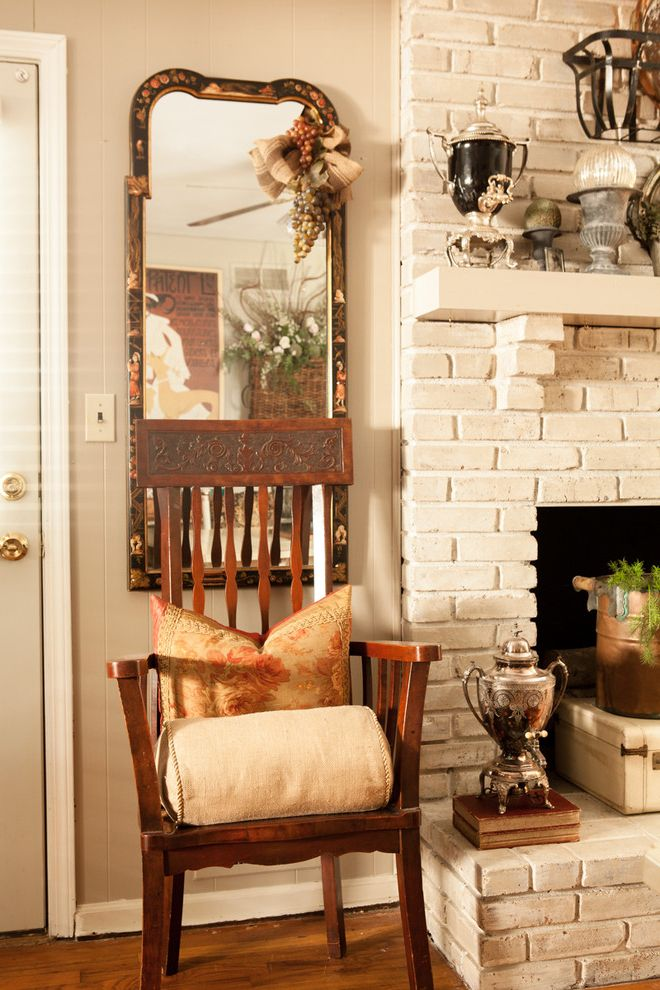 Design by Consign   Eclectic Spaces Also Asian Accents Faux Painted Fireplace Hearth Room