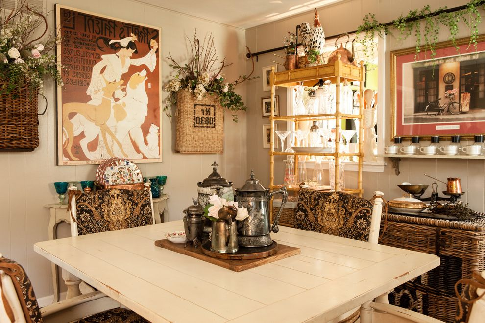 Design by Consign with Farmhouse Kitchen  and Eat in Kitchen French Country