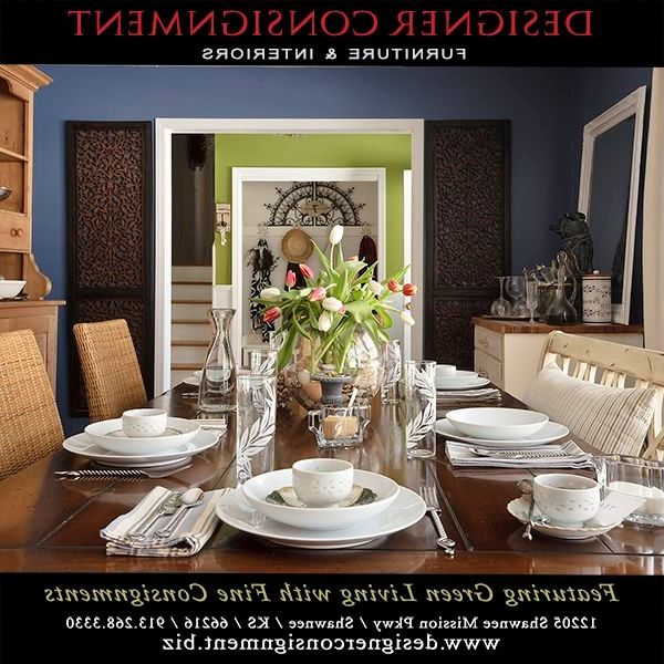 Design by Consign with Traditional Dining Room  and Farm Table Eclectic