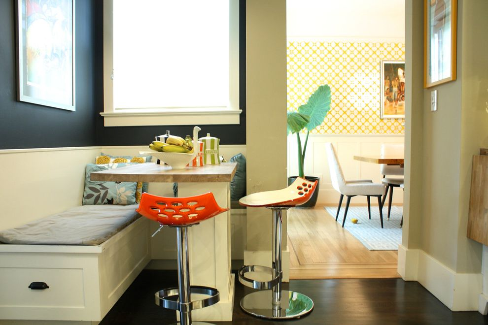 Different Color Wood Floors   Contemporary Dining Room Also My Houzz