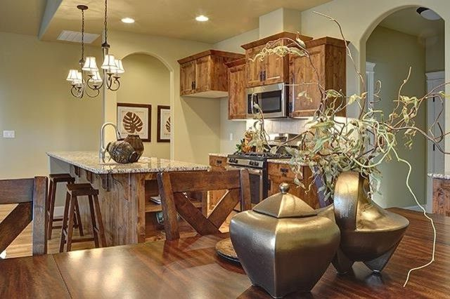 Dillabaugh's with Craftsman Kitchen Also Builder Granite Hardwood Kitchen New Construction