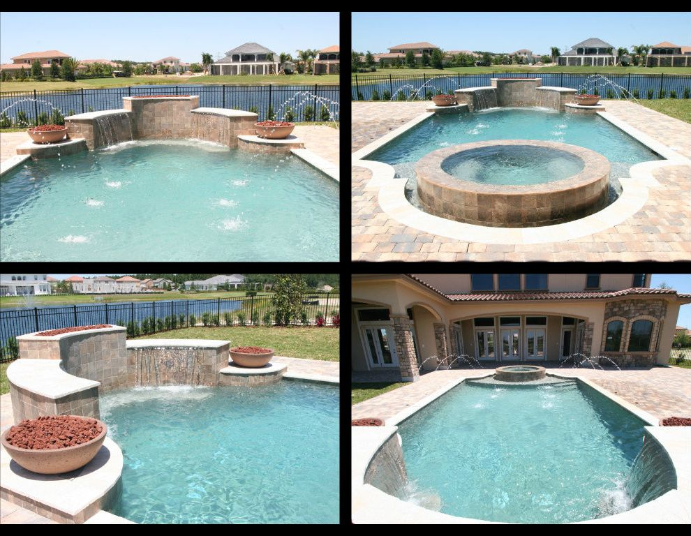 Dixie Pools   Contemporary Spaces Also Contemporary