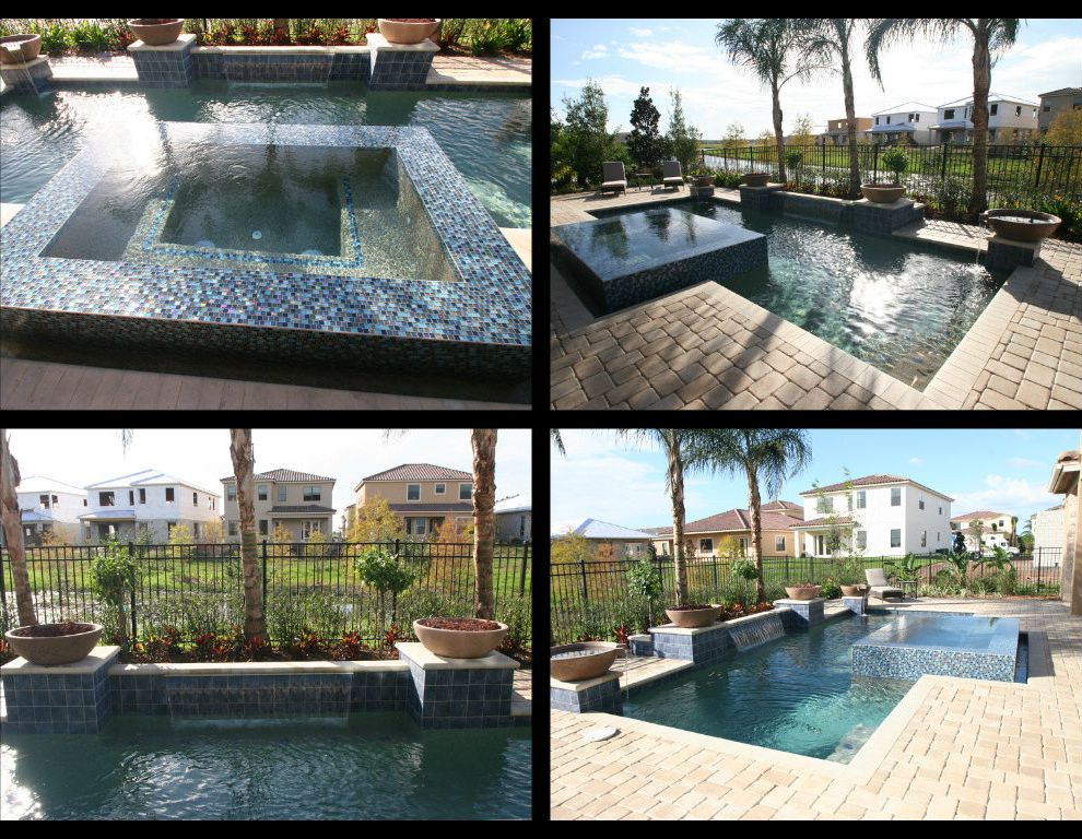 Dixie Pools with Modern Spaces  and Modern