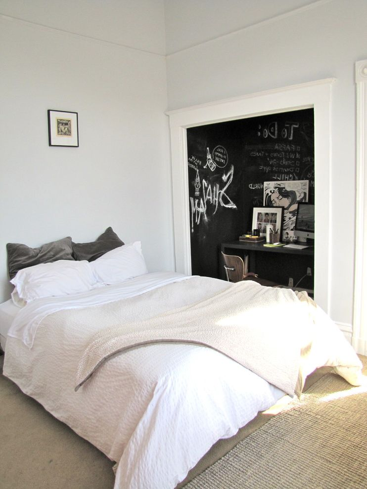 Do Chalk Markers Erase with Eclectic Bedroom  and Eclectic
