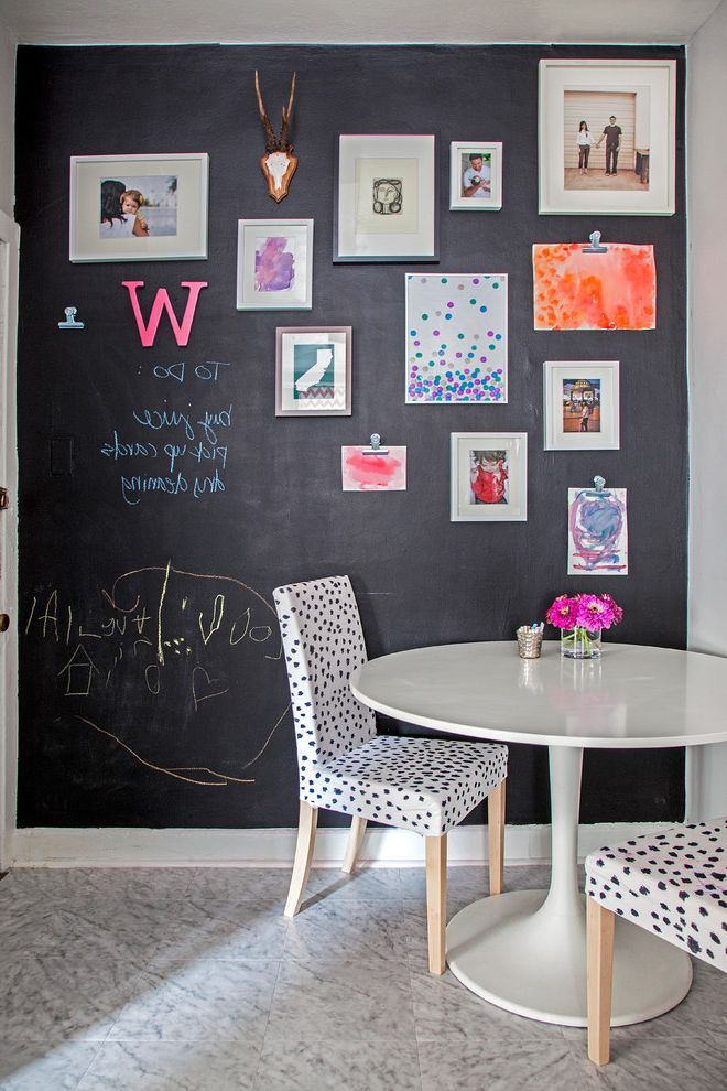 Do Chalk Markers Erase with Eclectic Kitchen Also Chalkboard Clips Dalmation Print Magnetic Paint Kids Art Photo Collection Photography Tile Floor