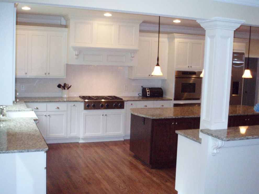 Donaldson Watch Repair    Kitchen Also New Built Ins for Teenagers New Custom Cabinets New Family Room New Firplace Custom Mantel New Island with Corbels New Kitchen Floor Plan Subway Backsplash