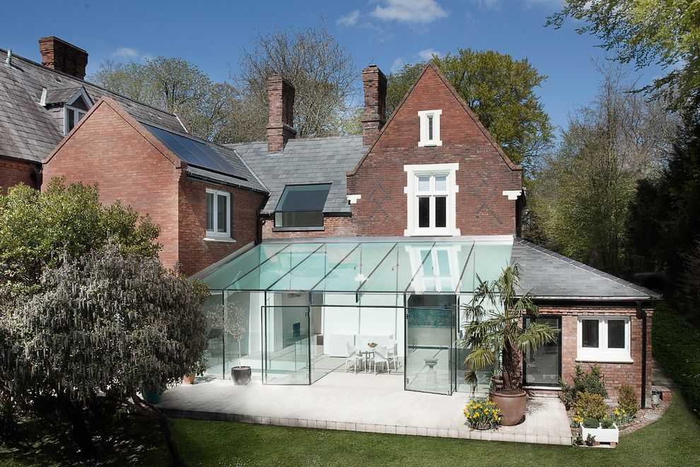 Dons Mobile Glass with Contemporary Exterior  and Ar Architect Art Contemporary Contrast Extension Glass Glass Addition Glass Box Extension Glass Extension Rear Extensions Rear Glass Extension