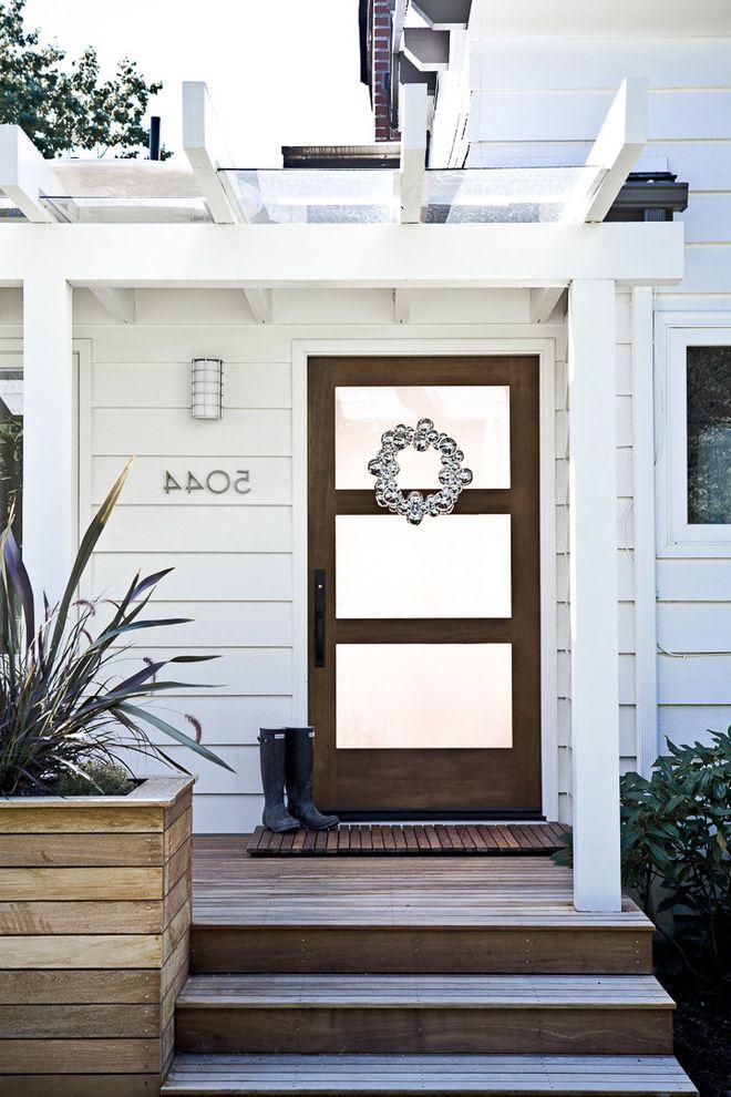 Door Mat Inserts   Traditional Entry Also Deck Door Mat Door Wreath Front Steps Glass and Wood Front Door House Numbers Pergola Raised Bed Wood Siding