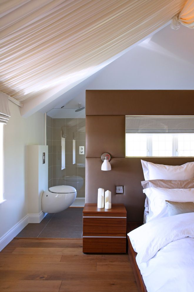 Drapes Definition with Contemporary Bedroom Also Alessi Ceiling Curtains Concrete Wall Light Country Decode Lights Ensuite Hadley Wood House Leather Headboard Leather Room Divider London Luxury Modern Tent Ceiling Wood Floors