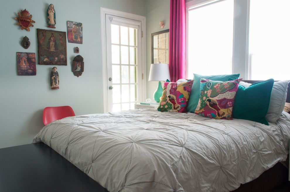 Duvet Definition with Eclectic Bedroom Also Bed Pillows Bedding Curtains Dallas Wall Art