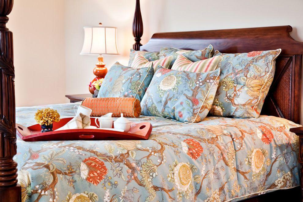 Duvet Definition with Traditional Bedroom  and 4 Posted Bed Bedroom Beige Blue Duvet Cover Orange Patterned Comforter Tangerine