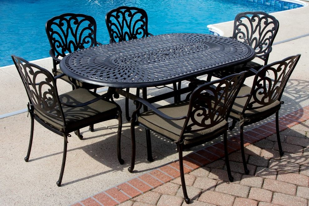 Eastgate Pools with  Spaces  and Patio Furniture