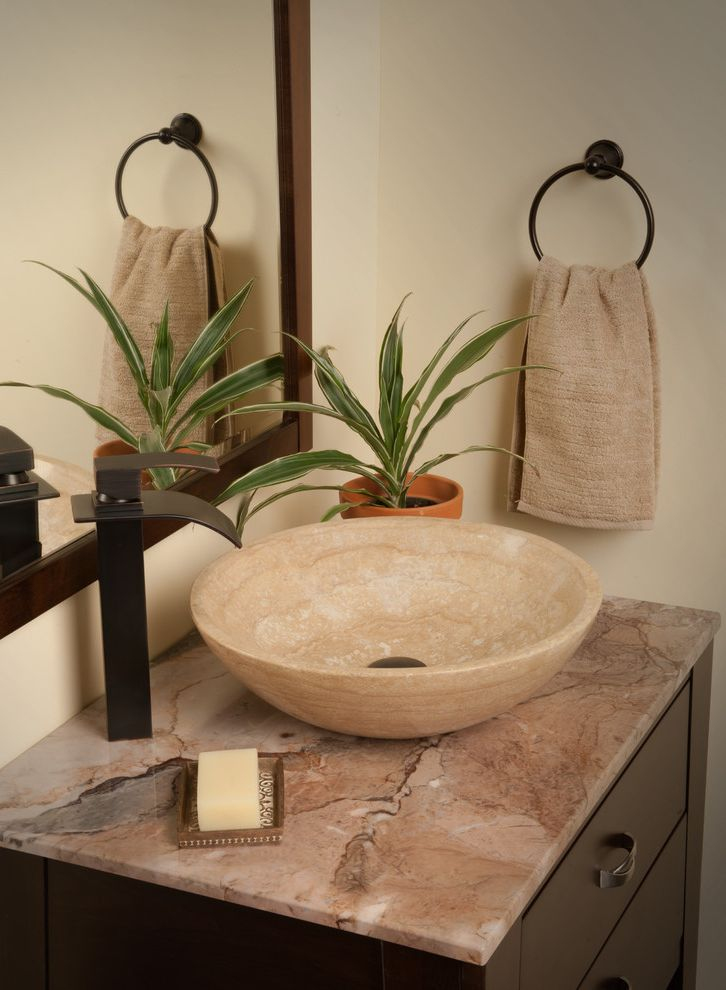 Eclipse Faucets   Contemporary Bathroom Also Contemporary