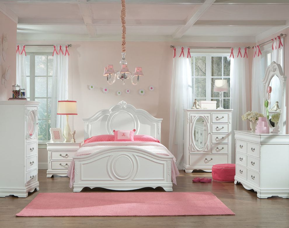 Eldoradofurniture Com   Traditional Bedroom Also Bed Beds Full Bed Girls Room Girls Bedroom Panel Bed Twin Bed
