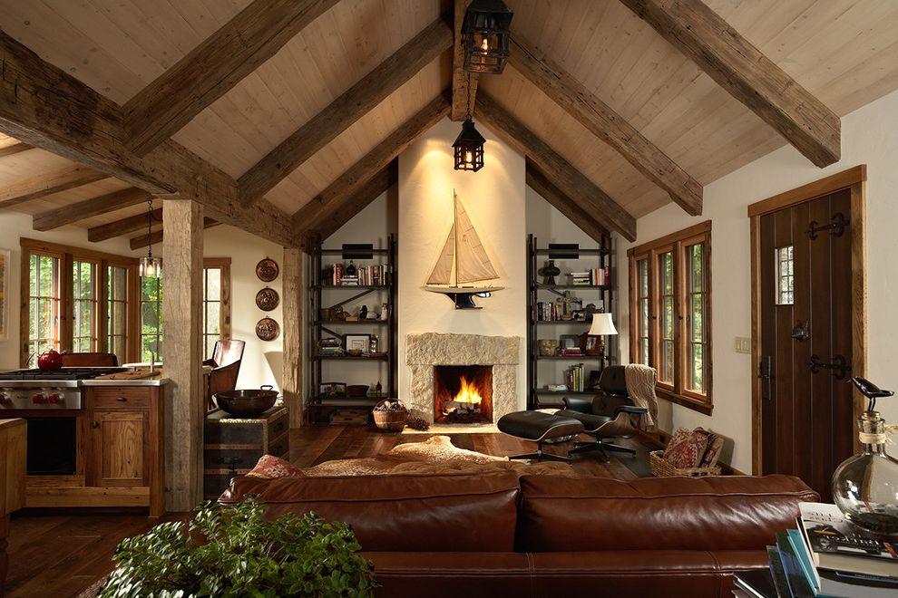 Epay Wood Rustic Living Room And Barn