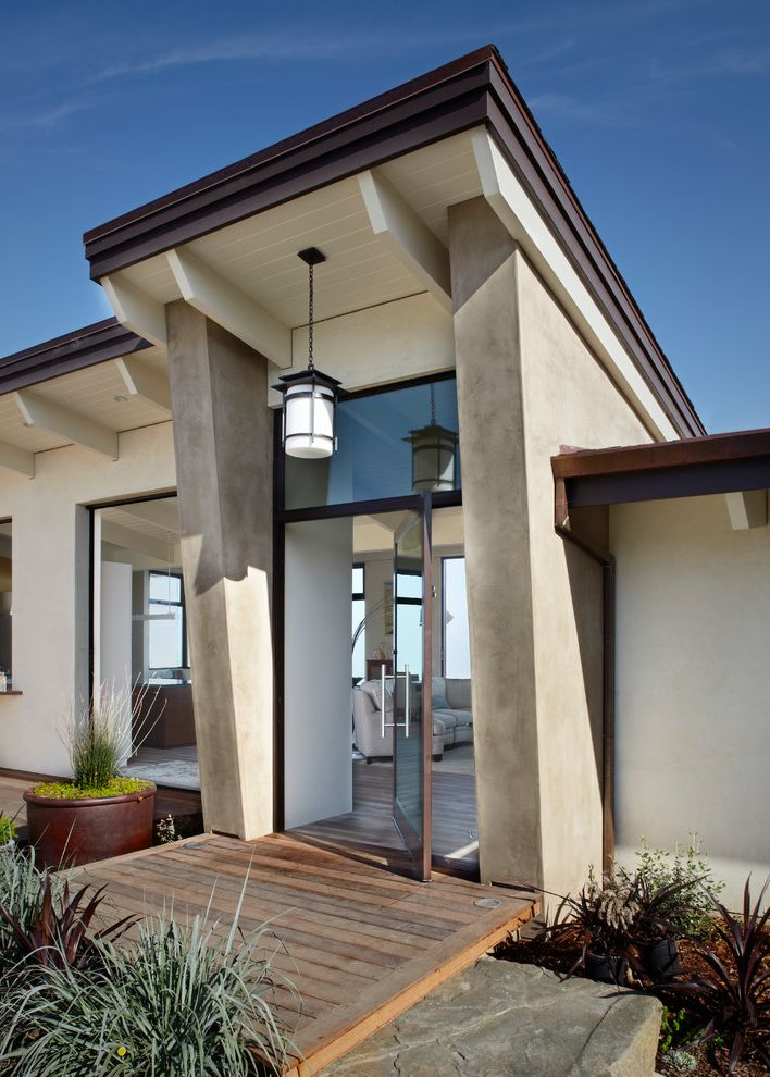 Epay Wood with Contemporary Entry Also Contemporary Entry Epay Wood Deck Glass Door Pendant Lighting Santa Barbara