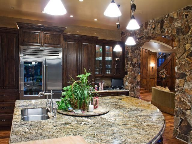 Equity Real Estate Utah   Contemporary Kitchen Also Hardwood Floors Kitchen Luxury Home Marble Marble Counter Tops Mountain Resort Park City Sink Ski Utah Stainless Steel Utah