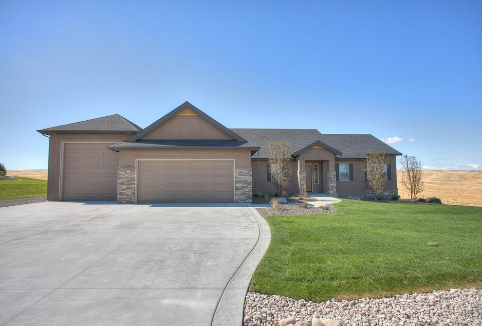 Equity Real Estate Utah with Traditional Exterior  and Charis Homes Llc Grayson High Plains Estates Highland Kit Fitzgerald Mountain Views Natalie Svaty Rolling Hills Sunsets the Kit Fitzgerald Team Views