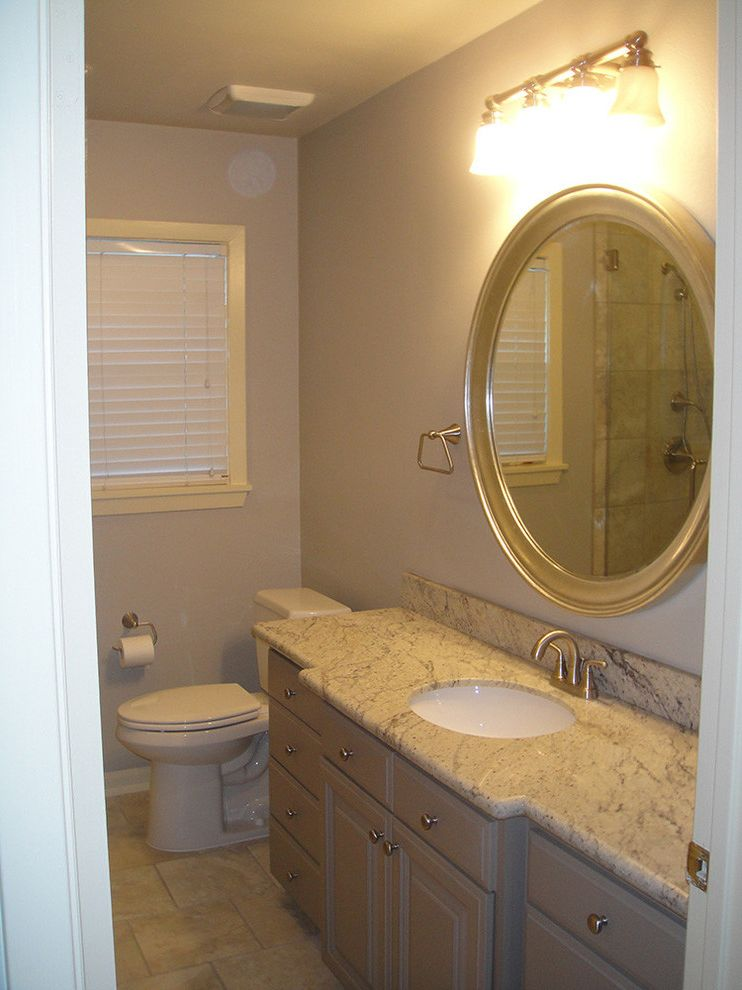 Everhart Construction   Traditional Bathroom Also Bathroom Remodel Bathrrom Tub and Shower Remodel