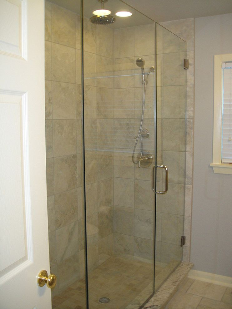 Everhart Construction   Traditional Bathroom  and Bathroom Remodel Bathrrom Tub and Shower Remodel