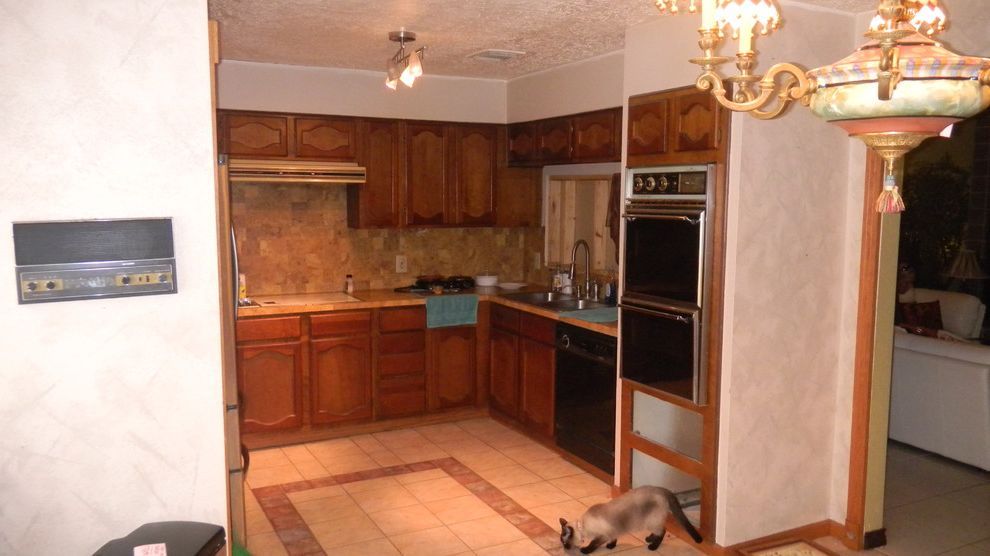 Everhart Construction Traditional Kitchen And 48s Kitchen Remode New 1970S Kitchen Remodel