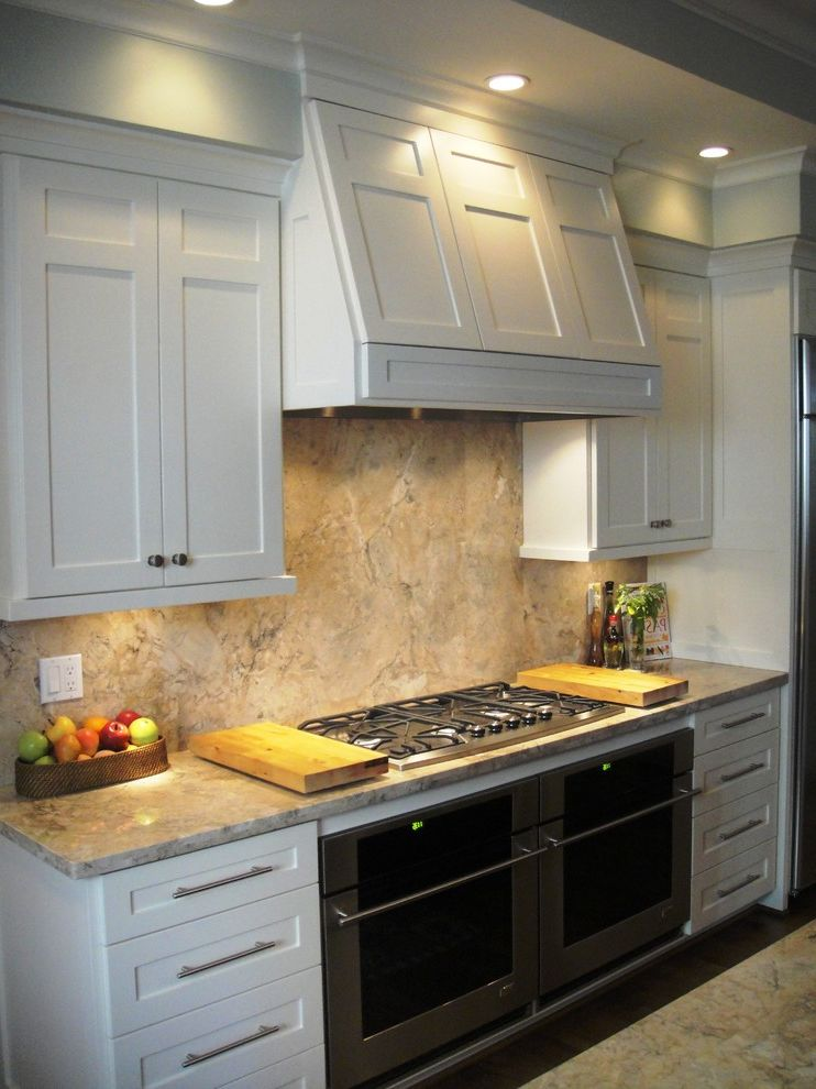 Everhart Construction   Traditional Kitchen  and Custom Cabinets Dual Under Counter Ovans Granite Counter Tops Major Kitchen Remodel Painted Cabinets