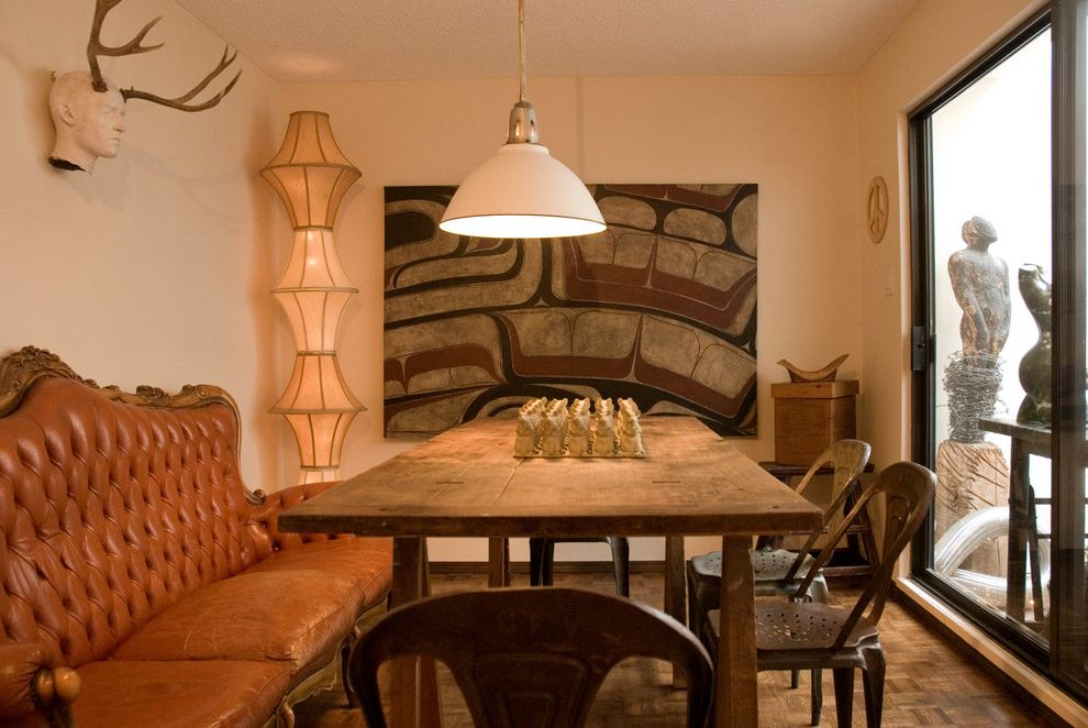Extra Large Drum Lamp Shade with Eclectic Dining Room Also Ambient Lighting Antlers Caramel Sofa Corner Lamp Dining Couch Farmhouse Table Floor Lamp Lampshades Leather Couch Lighting Fixture Pendant Light Rustic Sculpture Stacked