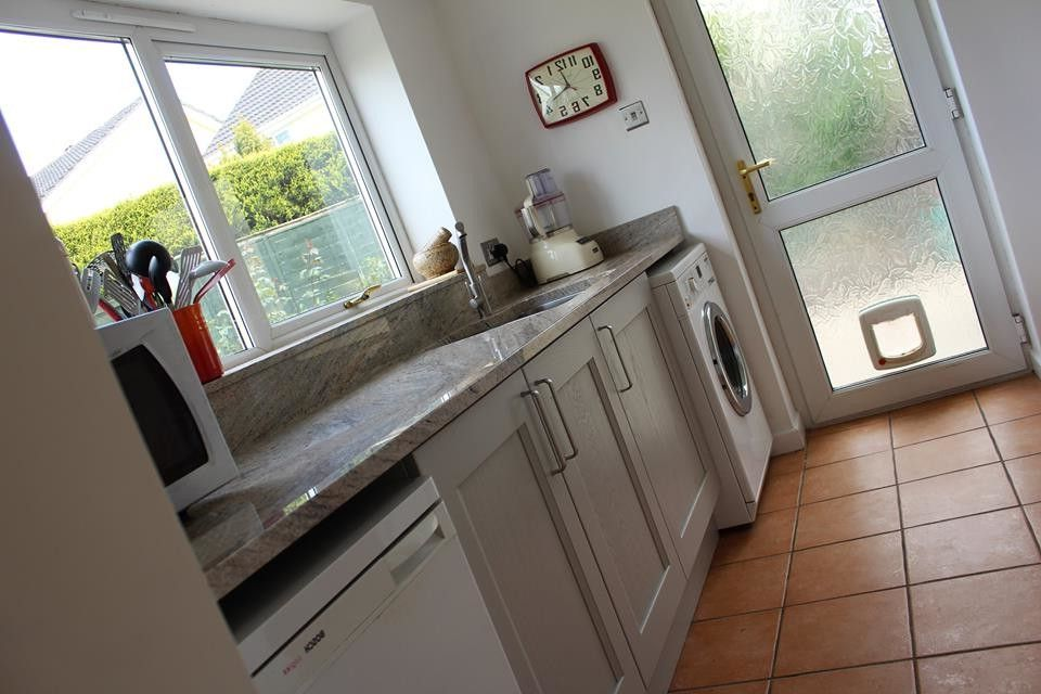 Ezs8wslk with Transitional Kitchen  and After Before Design Granite Home House Kitchen Kitchen Sinks Mount Sink Splashback Tap