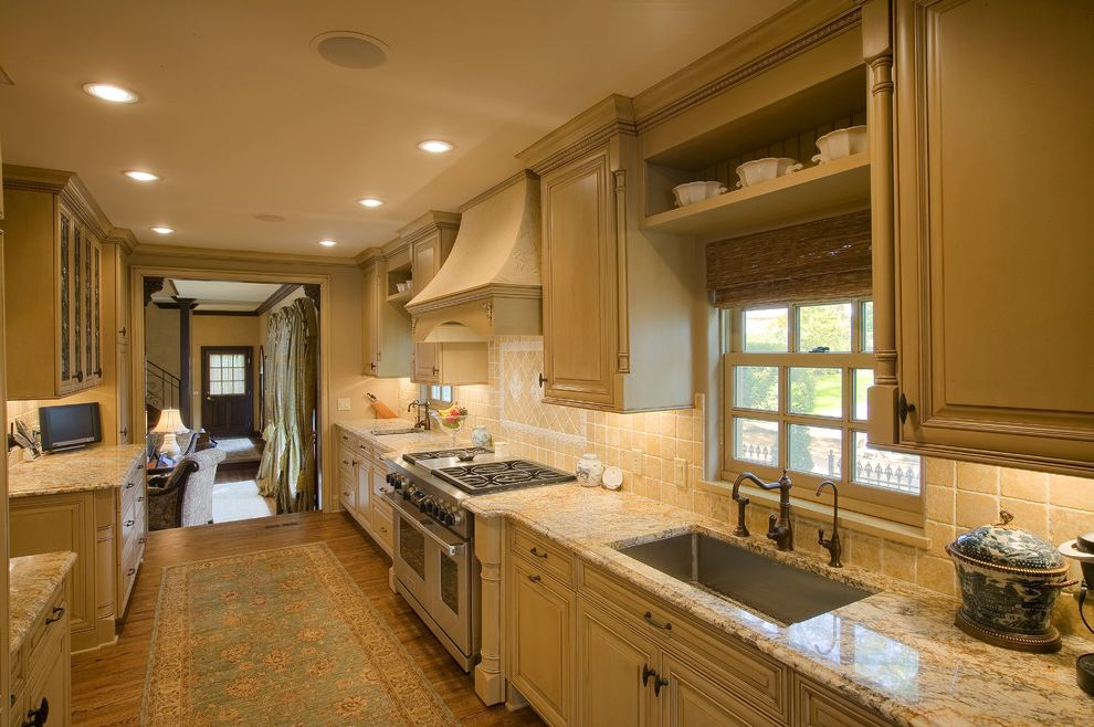 Faucet Definition Traditional Kitchen and Columns Crown Molding Farm ...